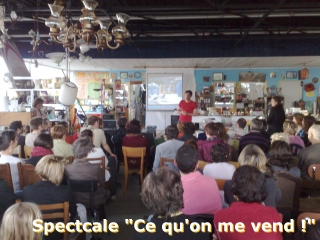 Spectacle à la Recyclerie : Ce qu'on me vend !